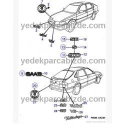 SAAB YAZI  S  900 1994 - 1998