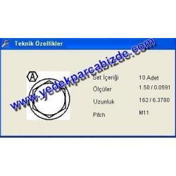 SAPLAMA SİLİNDİR KAPAK 200 / 400 / 600 / 800