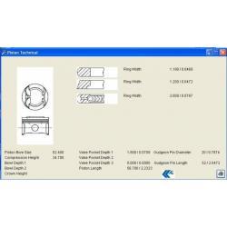 PİSTON + SEGMAN (040mm) 145 / 146 / 156 1.6 TWINSPARK