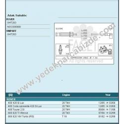 BUJİ KABLOSU 420 / 620 / 820(BOBİNLİ TİP)