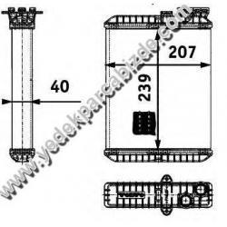 KALORİFER RADYATÖRÜ S60 / S80 / V70 / XC90